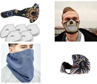 Maski antysmogowe. Zobacz, jak wyglądać stylowo i dbać o zdrowie (zdjęcia)