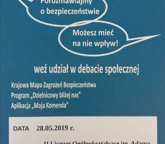 Komenda Policji w Słupsku zaprasza do debaty