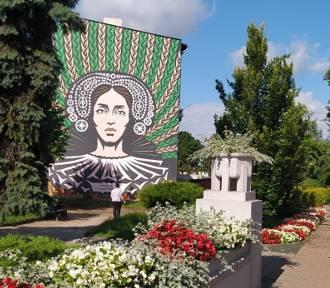 W Brodnicy powstał pierwszy mural. Przedstawia wizerunek księżniczki Anny Wazówny. Mamy zdjęcia!