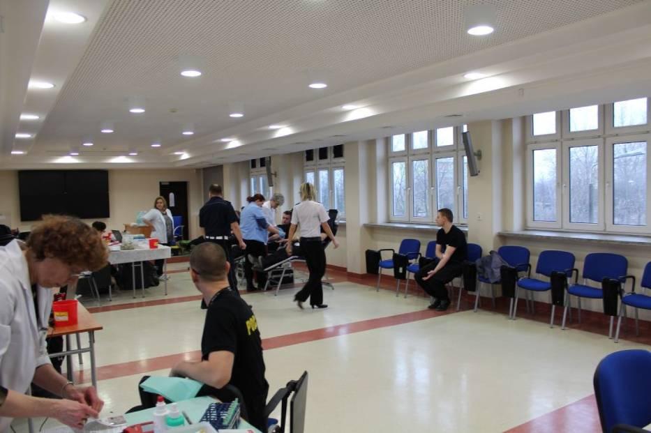 Sieradzcy policjanci oddali krew