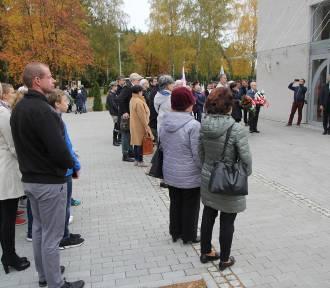 Złotów: II odsłonięcie tablicy Powstańców Wielkopolskich