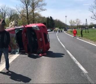 Sześć osób rannych w wypadku między Jelenią Górą i Bolkowem