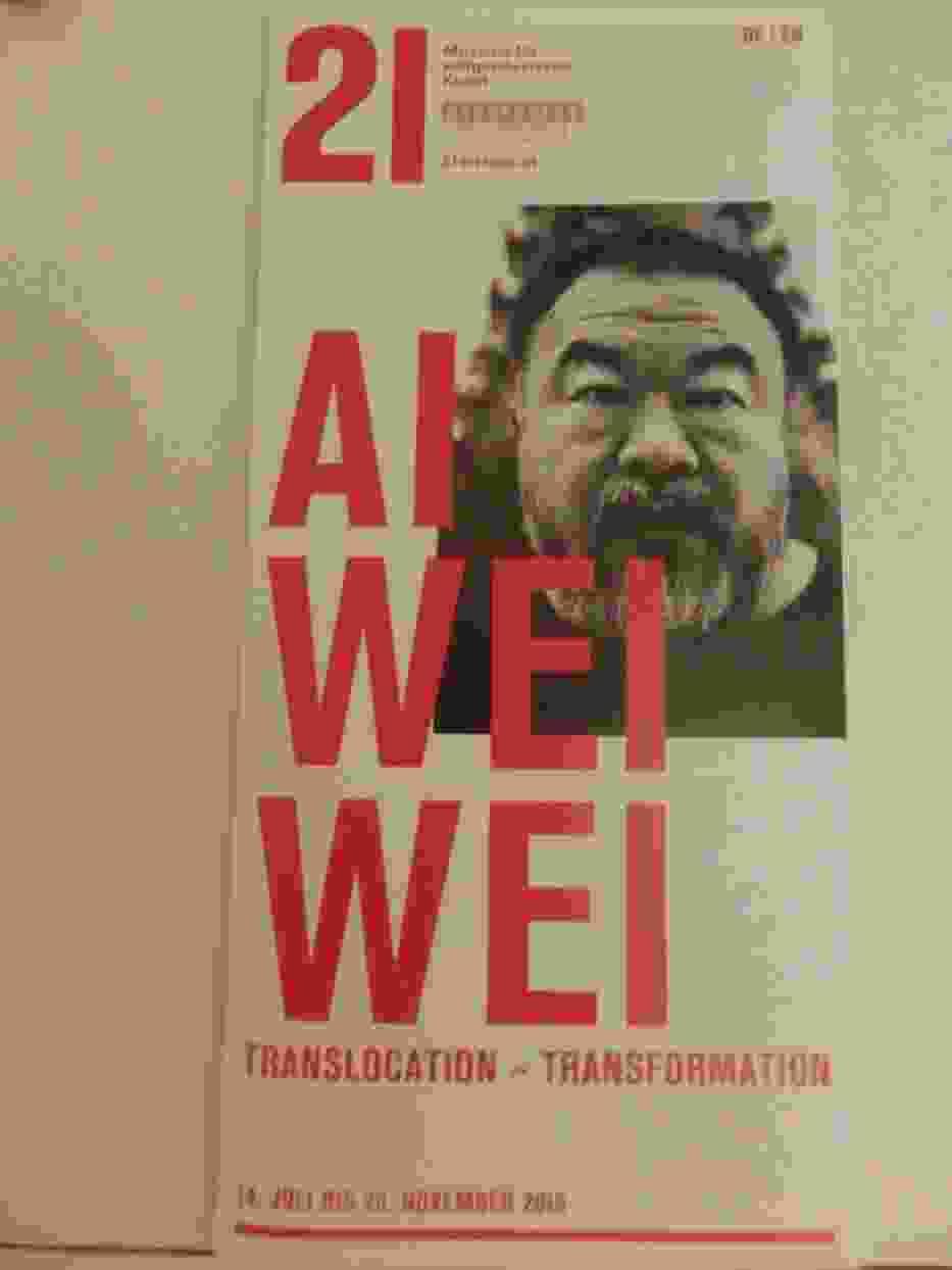 Translocation - Transformation / Przemieszczanie - Przekształcanie) tak Ai Weiwei zatytułował pokazswojej twórczości