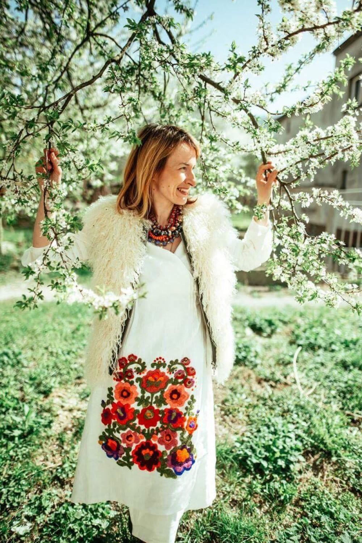 Anastasiya Vasylyk, gwiazda mody rodem z Ukrainy, pokaże jak słowiańskie inspiracje łączy z nowoczesnym designem