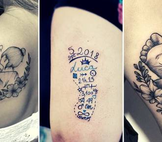 Najciekawsze tatuaże dla mam