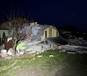 Wybuch gazu w Kaliszu. Eksplozja zniszczyła dom jednorodzinny przy ulicy Romańskiej. ZDJĘCIA