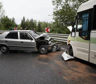 Seria wypadków w Małopolsce. Ponad 20 osób rannych [ZDJĘCIA]