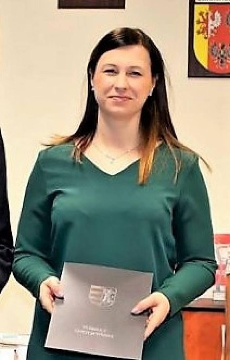 Agnieszka Brola, dyrektor Domu Pomocy Społecznej w Drzewicy