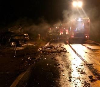 Wypadek pod Obornikami: BMW mogło pędzić nawet 100 km/h [ZDJĘCIA]
