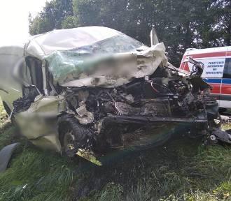 Groźny wypadek z udziałem mieszkańca powiatu pleszewskiego