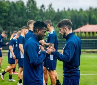 Upał, nie upał, a piłkarze ŁKS Łódź trenują w pocie czoła - ZDJĘCIA