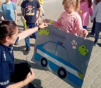 Starogard Gdański - Policyjne zajęcia w przedszkolu