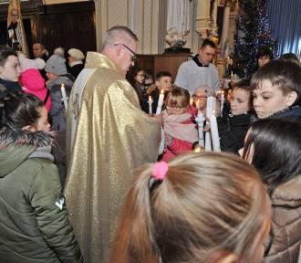 Uroczystość z okazji  125-lecia  urodzin i chrztu  św. Maksymiliana Marii Kolbe w Bazylice w Zduńskiej