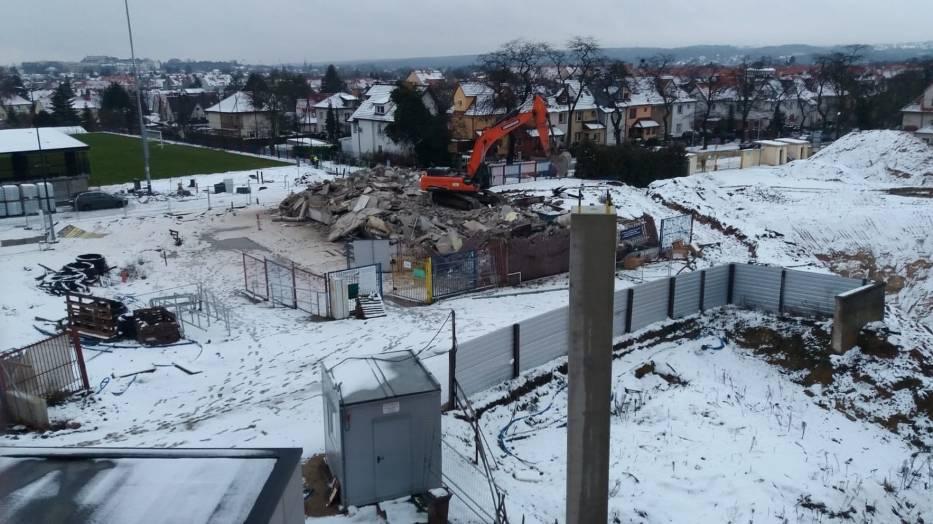 Stadion Pogoni - 4 stycznia 2021