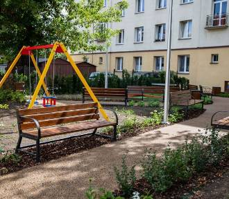 Białystok. Park kieszonkowy przy ul. Parkowej. Otwarcie we wrześniu [ZDJĘCIA]
