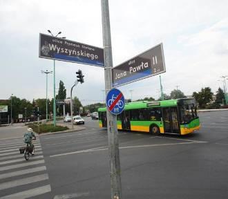 Korki na rondzie Śródka - autobusy mogą mieć opóźnienia