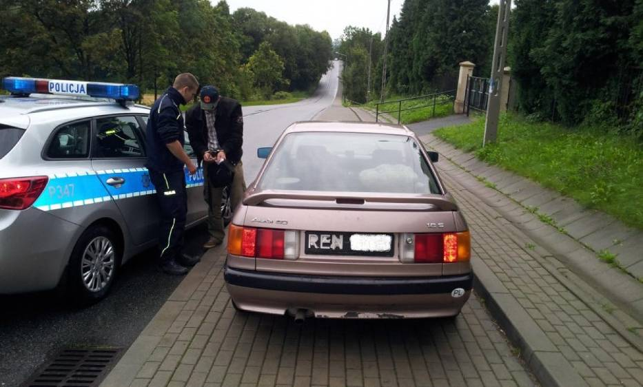 kradzież paliwa w cieszynie