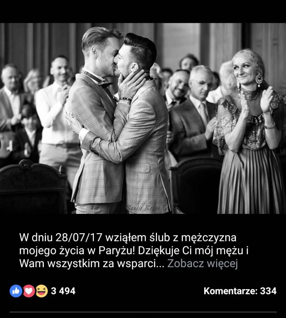 Michał Kwiatkowski wziął ślub