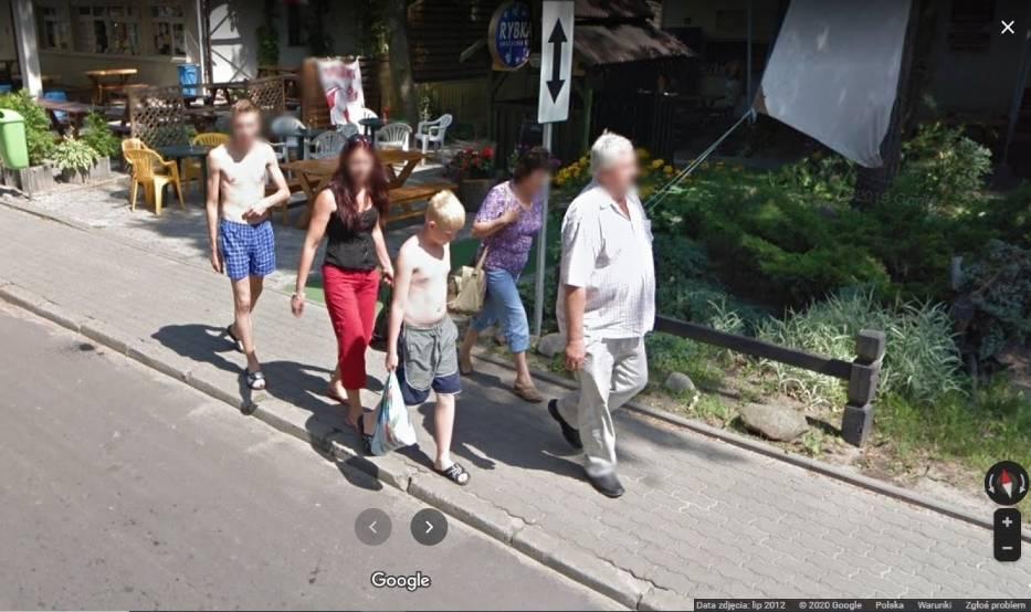 Kamery Google Street View w Przyjezierzu