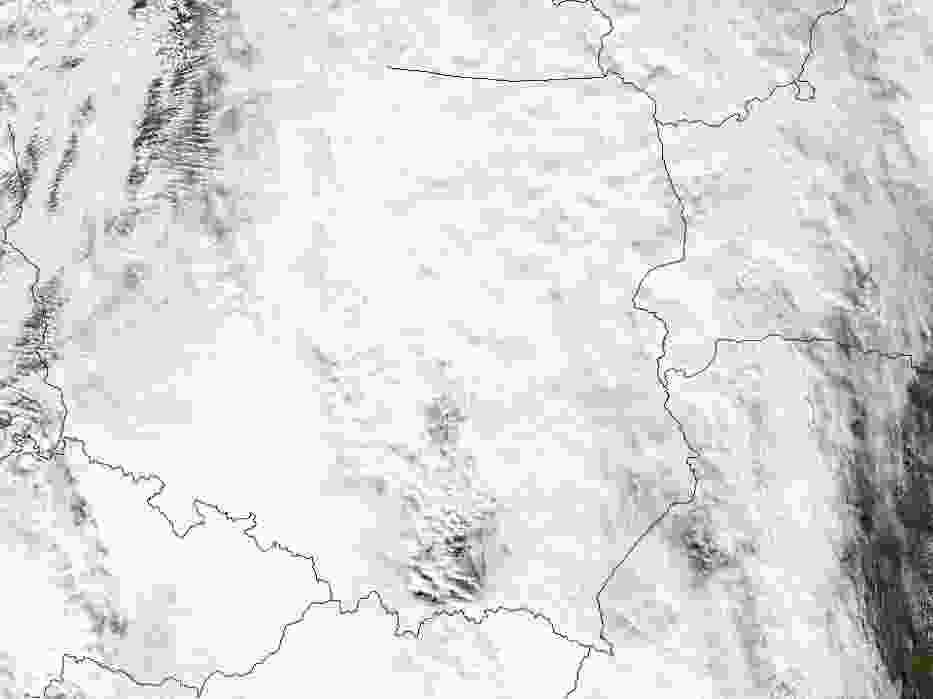 Chmury nad Polską