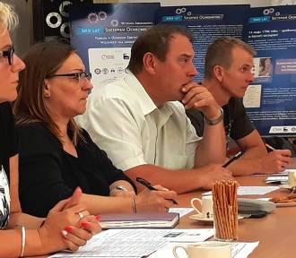 Spotkanie dotyczące wydarzeń sportowych w powiecie łęczyckim