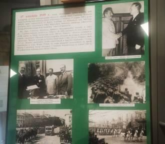 Wystawa w 82. rocznicę sowieckiej agresji na Polskę w Sieradzu