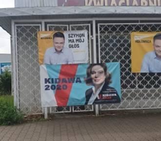 Kidawa nadal w Bełchatowie. Sondaż prezydencki. Jak zagłosuje nasz region?
