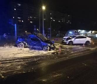 Wypadek na ul. Zgierskiej. Policja szuka świadków