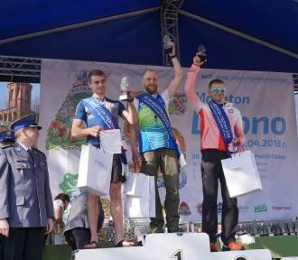 Mistrz Polski z Leszna! Łukasz Wróbel wygrał Mistrzostwa Polski Policjantów w Maratonie [FOTO]