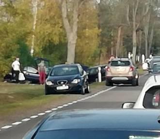 Na DK 19 zderzyły się trzy samochody, trzy osoby zostały ranne