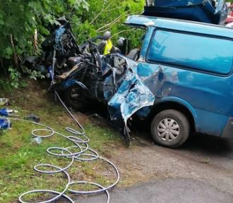 Śmiertelny wypadek w Mierzeszynie