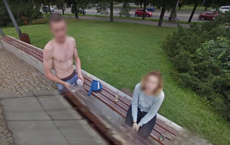 Perełki z kamer Google Street View w Kujawsko-Pomorskiem [20.09.2020]