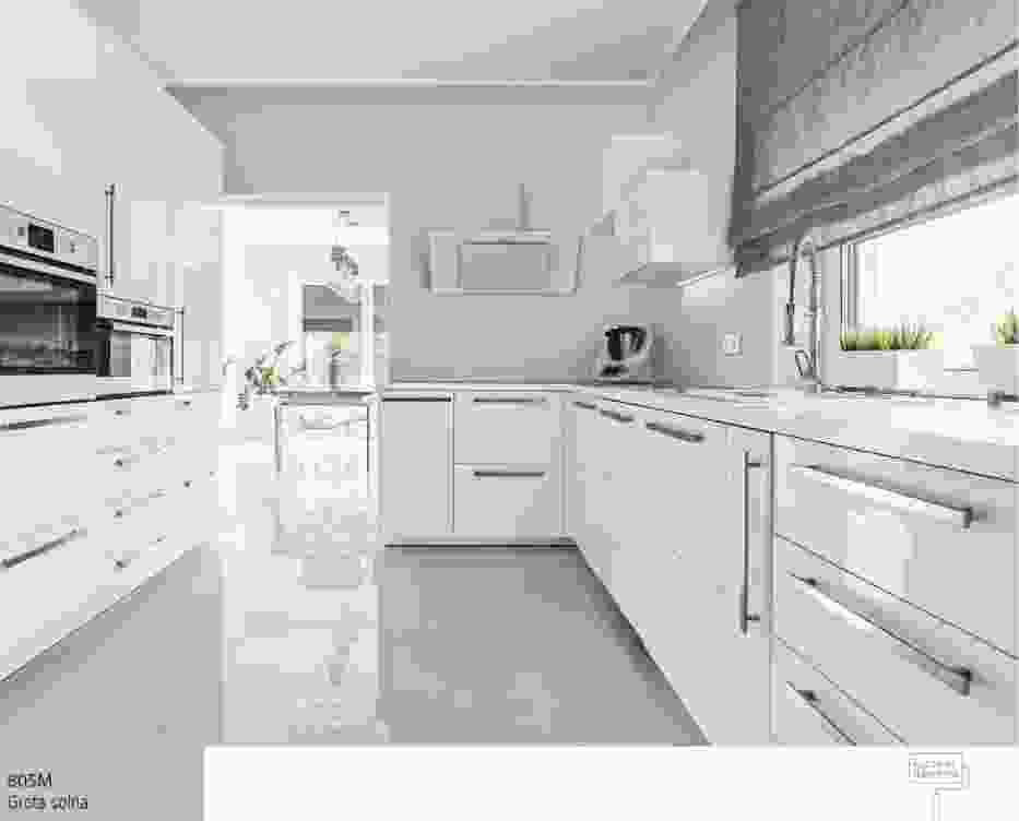 Projektowanie szarej kuchni wymaga starannego zaplanowania