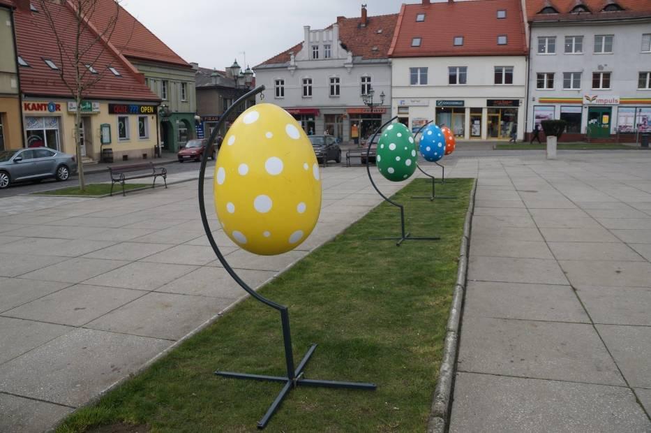Wielkanocne dekoracje w mieście - Wodzisław Śląski