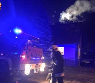 Dwa pożary w gminie Oleśnica (ZDJĘCIA)