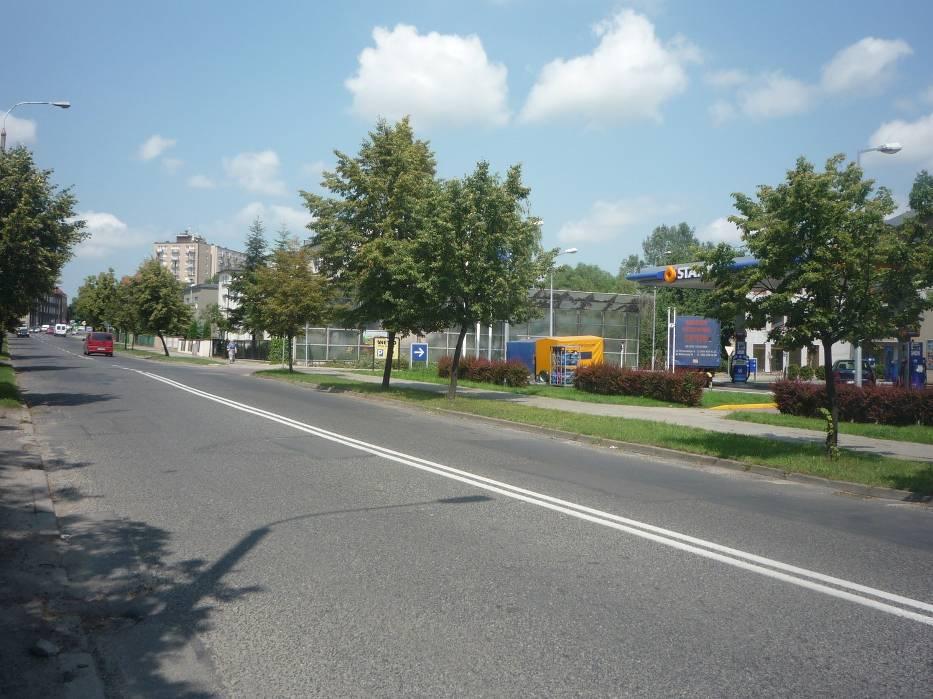 ulica w Gnieźnie