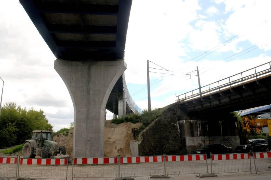 Budowa łącznicy Zabłocie-Krzemionki w Krakowie