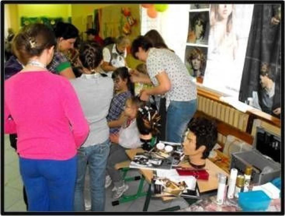 Prezentacja rodziców - u fryzjera