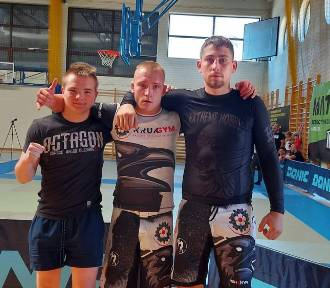 Kruk Gym Kalisz z dwoma medalami Pucharu Polski w brazylijskim jiu-jitsu. ZDJĘCIA