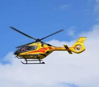 Śmigłowiec LPR lądował po poparzone dziecko