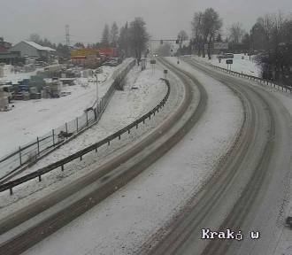 Fatalna sytuacja na wielu małopolskich drogach