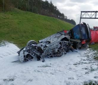Wypadek na A4 w Gogolinie. Nie żyje 6-letnie dziecko
