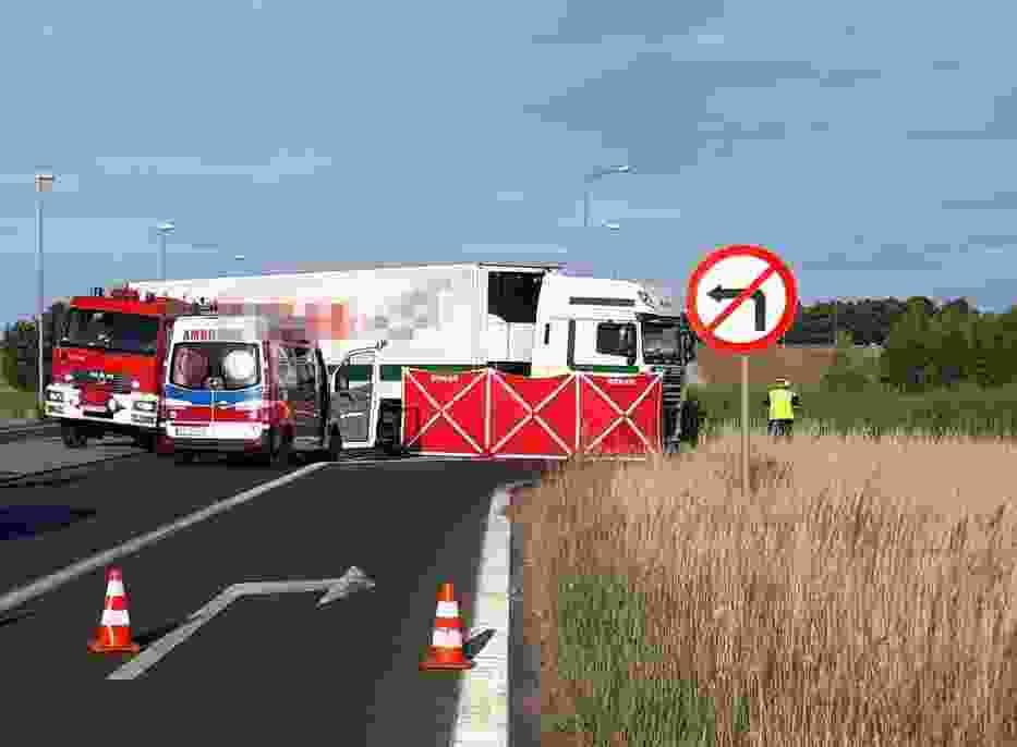 Wypadek wydarzył się 3 lipca 2018 roku w pobliżu Zieleniewa