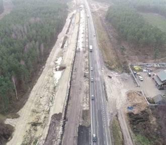 Budowa A1: Tak powstaje betonowa trzypasmówka za Częstochową