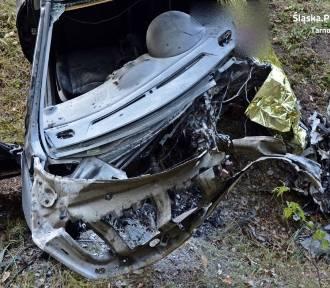 Śmiertelny wypadek na DW 907 w Tworogu. Nie żyje 51-latek