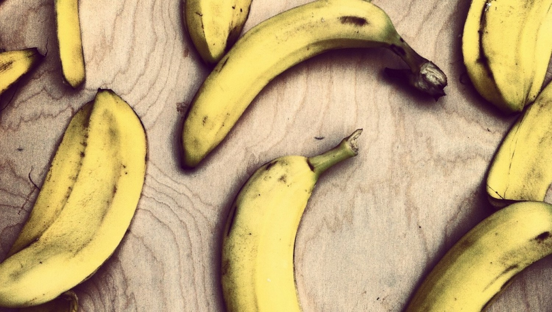 Skórki z bananów