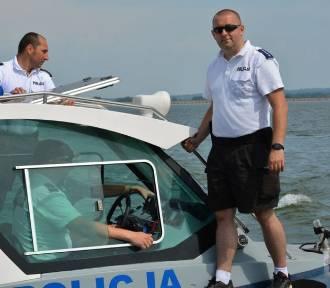 Policjanci już pracują nad największymi opolskimi jeziorami [zdjęcia]