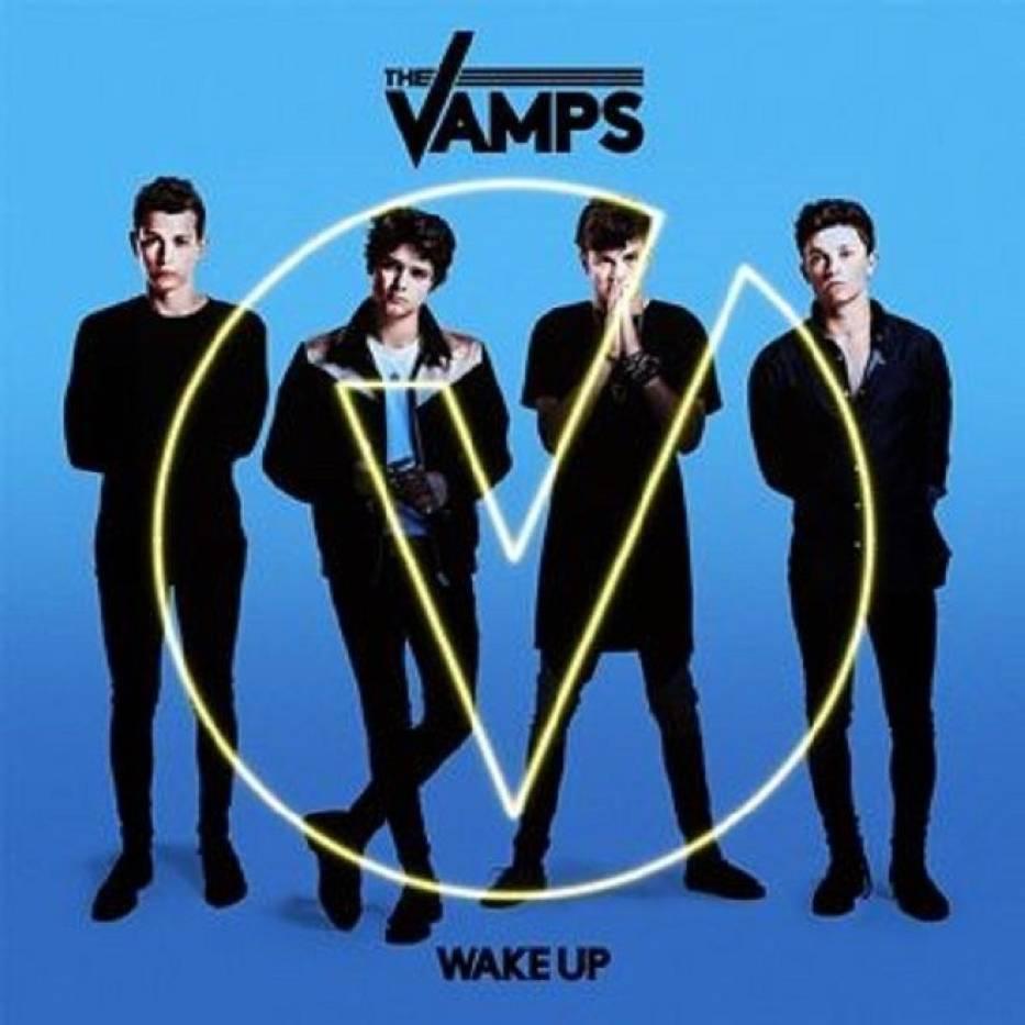 """Okładka płyty """"Wake Up"""" - zespołu The Vamps"""