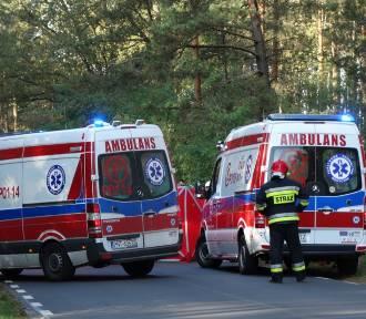 Fatalny wypadek pod Sątopami. Motocyklista zmarł w szpitalu [ZDJĘCIA]