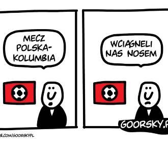 Mecz Polska-Kolumbia 0:3 MEMY. Dramat, po prostu dramat... [Mundial 2018]